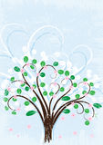 Tree background Stock Images