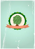 Tree badge Stock Photography