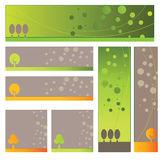 Tree banner Stock Images