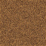 Tree Bark Basket Weave Background. Repeated braiding of irregular textured strands creates a 3-D basket weave pattern in brown with white accents that resembles Royalty Free Stock Image
