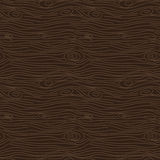 Tree bark brown texture vector seamless pattern. Stock Photography
