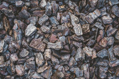 Tree bark mulch Royalty Free Stock Photos
