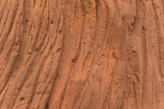 Tree bark texture made from cement. Close up Royalty Free Stock Photo
