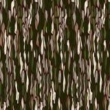 Tree bark texture. Seamless vector background. Royalty Free Stock Photos