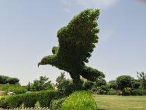 Tree bird. A decorate of flown bird on a tree stock photos