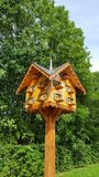 Tree, Bird Feeder, Wood, Outdoor Structure Royalty Free Stock Images