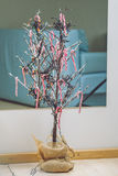 Tree Branch Christmas Tree Royalty Free Stock Photography
