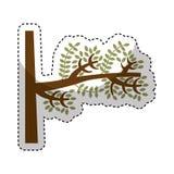 Tree branch isolated icon Stock Photo