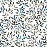 tree branches seamless pattern Stock Photography
