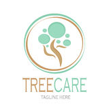 Tree care logotype Stock Vector vector illustration