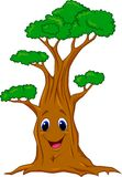 Tree cartoon character Royalty Free Stock Images