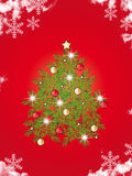 Tree christmas royalty free stock photo