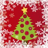 Tree christmas Stock Image