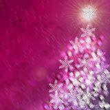 Tree Christmas Backgrounds. Tree snow  New Year and Christmas Backgrounds Stock Photography
