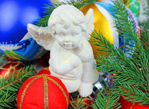 Tree Christmas Xmas Angel Royalty Free Stock Photography