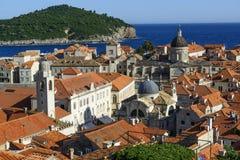 Tree churches of Dubrovnik Stock Photos