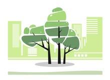Tree, city Stock Photography
