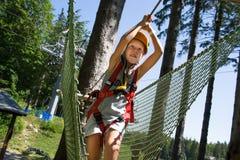 Tree climbing Royalty Free Stock Photos