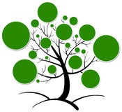 Tree clipart stock illustration