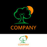 Tree Concept Logo royalty free stock images