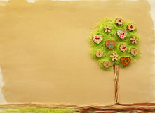 Tree craft Stock Photo