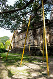 Tree Crutch. Used as icon of Religious Faith Royalty Free Stock Photos