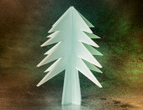 Tree cut in glass Royalty Free Stock Photography