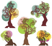 Tree design series Stock Photo