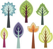 Tree design series Stock Photos