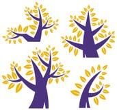 Tree design series Stock Image