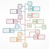Tree Diagram Royalty Free Stock Image