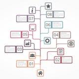 Tree Diagram Stock Image