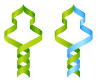 Tree DNA Icon Concept Stock Photography