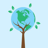 Tree Earth Royalty Free Stock Photography