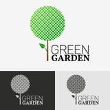 Tree Eco logo concept. Tree Eco vector design represents friendly logo concept Stock Image