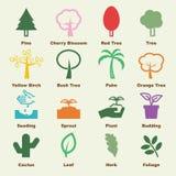 Tree elements Royalty Free Stock Image