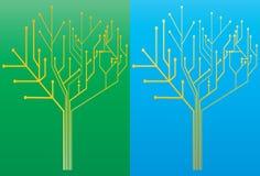 tree för 2 strömkrets Royaltyfri Foto