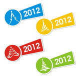 tree för 2012 jul Arkivbild