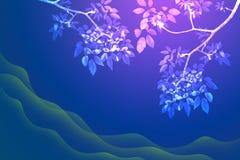 tree för bakgrundsfilialleaf Royaltyfria Foton