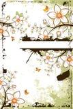 tree för copyspaceblommagrunge Arkivfoto