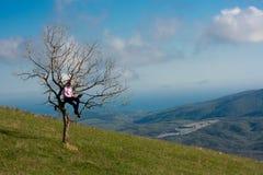 tree för datorman Royaltyfria Bilder