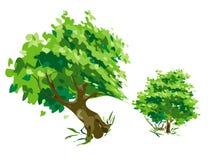 tree för eps-mappmodell Arkivbild