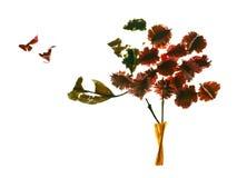tree för fågelpotpourri s Arkivfoton