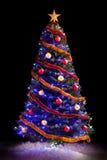 Tree för nytt år Arkivfoto
