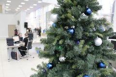 Tree för nytt år Arkivbild