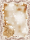 tree för 8 för filialjul elegant snowflakes för eps Arkivfoto