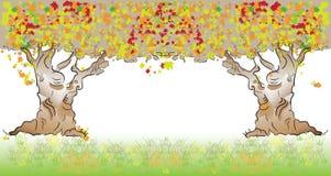 Tree fall Royalty Free Stock Image