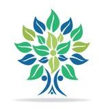 Tree family symbol logo Stock Photography