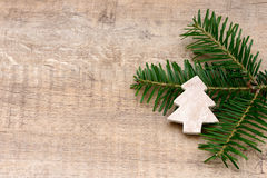 Tree on fir Royalty Free Stock Photography