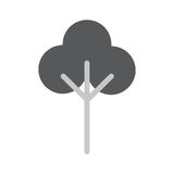 Tree Flat Vector Icon. Tree Icon in trendy flat style  on whie background. Tree symbol for your web design, logo, UI. Vector illustration, EPS10 Stock Image